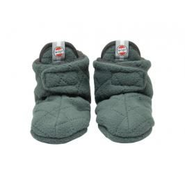 Lodger Slipper Fleece Scandinavian Sage 0-3 měsíce