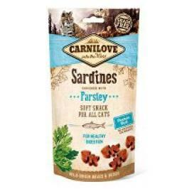 Carnilove Cat Semi Moist Snack Sardine&Parsley 50g